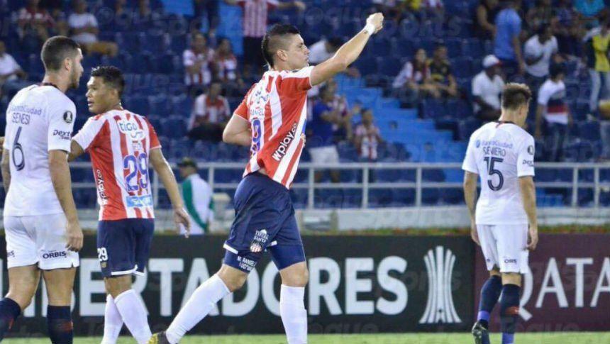 Copa Libertadores: San Lorenzo tropezó ante Junior en Barranquilla y todavía no pudo clasificar a octavos