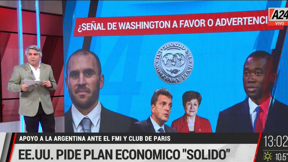 ¿El ajuste económico sigue o se vuelca al gasto social y el acuerdo con el fondo debe esperar? (Foto: Captura de TV)