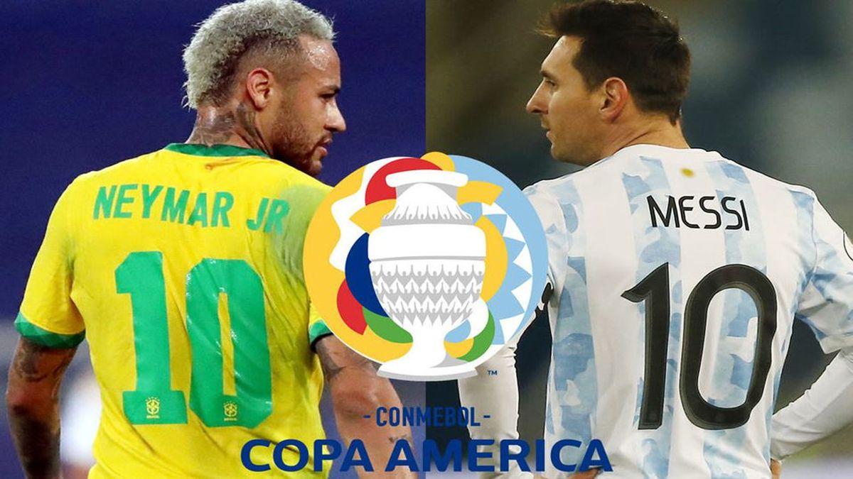 Argentina y Brasil disputarán la final de la Copa América 2021