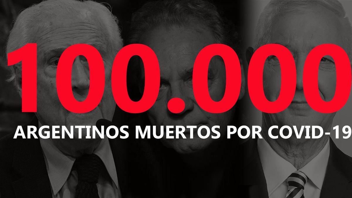 100 mil muertos por coronavirus en Argentina: Los famosos que murieron por coronavirus