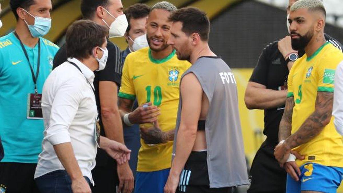 La FIFA confirmó la suspensión del partido entre Brasil y Argentina.