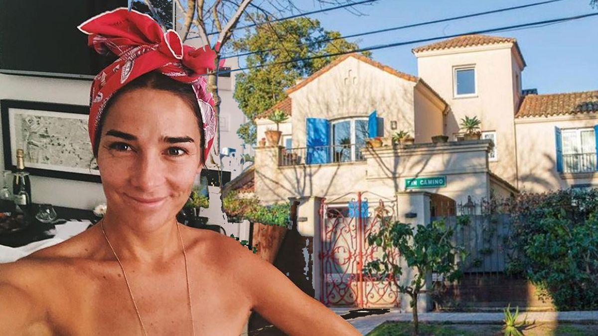Juana Viale y un detalle de su casa que comprueba que mintió