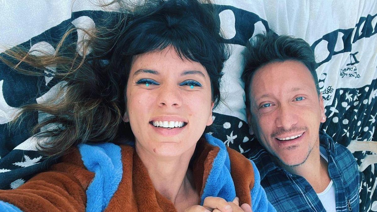 Nicolás Vázquez sorprendió al publicar un foto retro con Gimena Accardi de hace 14 años