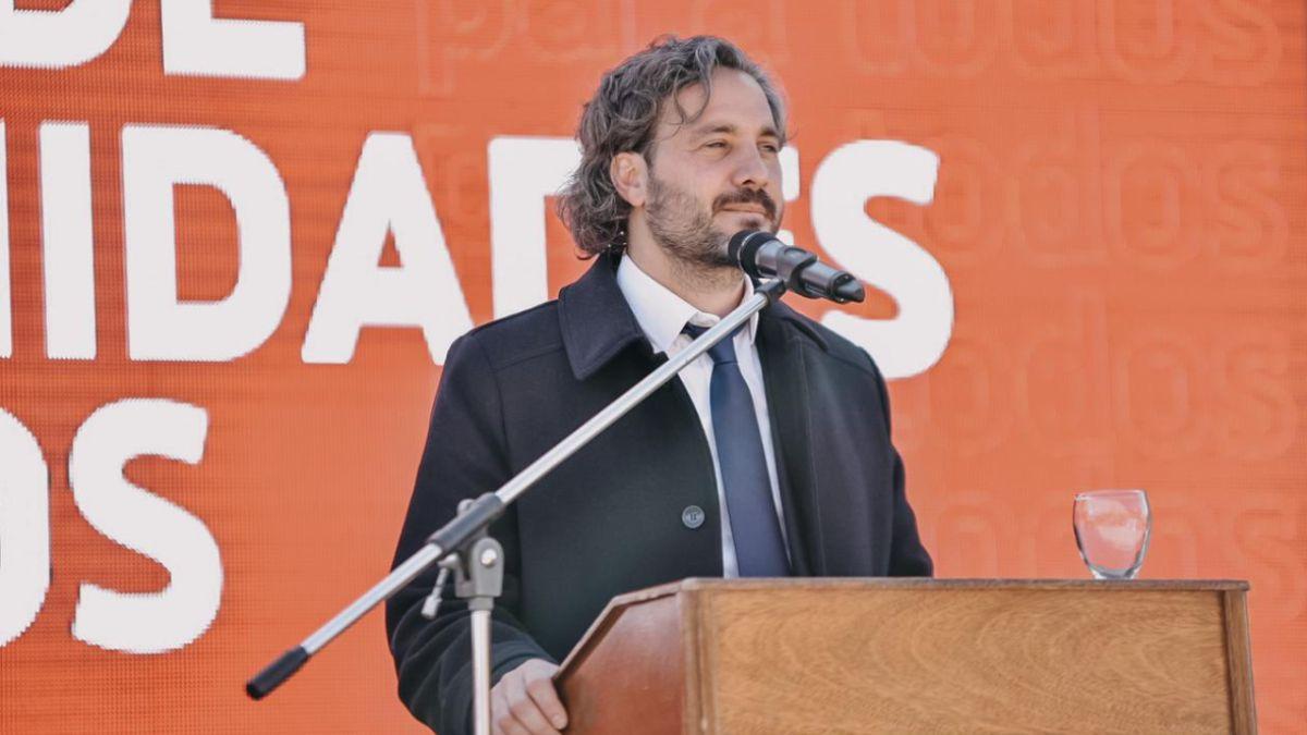 Santiago Cafiero se refirió la campaña electoral de la oposición y el Frente de Todos. Foto: Twitter de Santiago Cafiero.