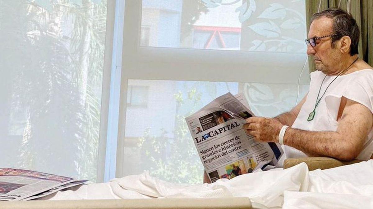 Carlos Reutemann sigue en terapia intensiva y comienza rehabilitación motora
