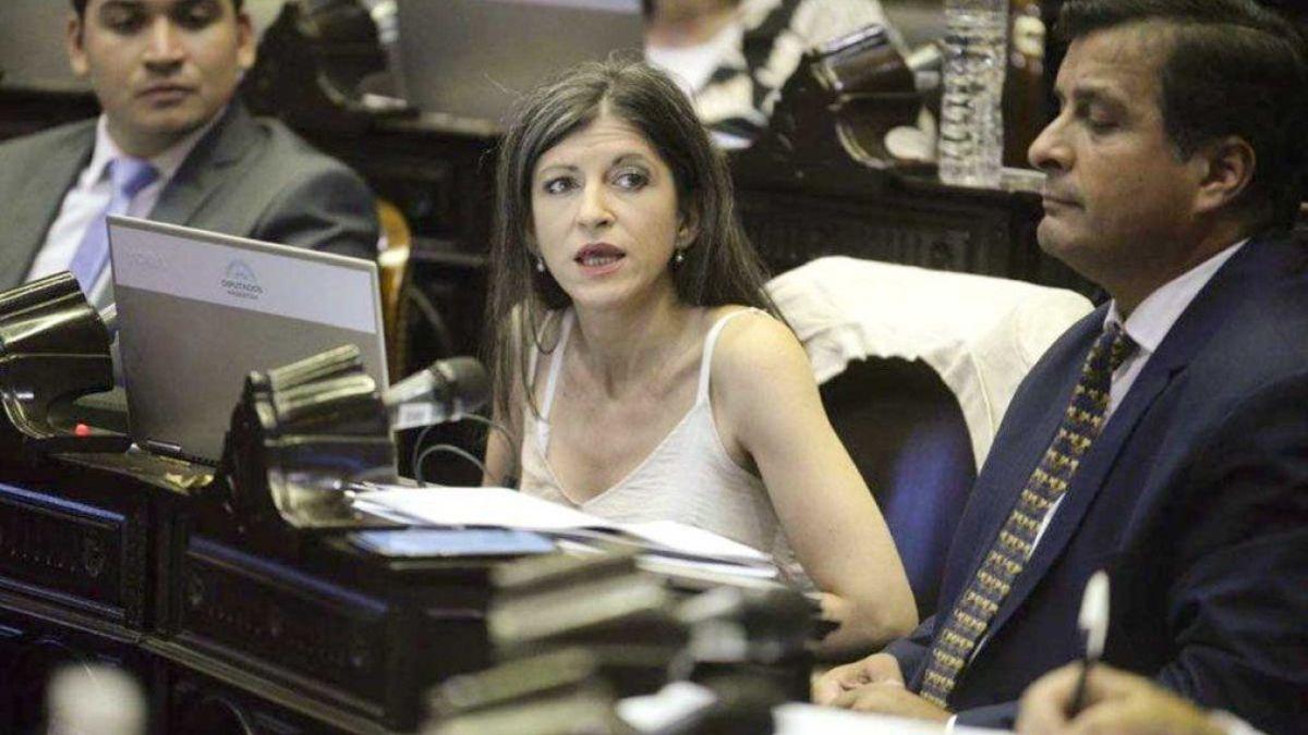 La diputada kirchnerista Fernanda Vallejos descalificó al Alberto Fernández en un mensaje de audio (Foto: archivo).