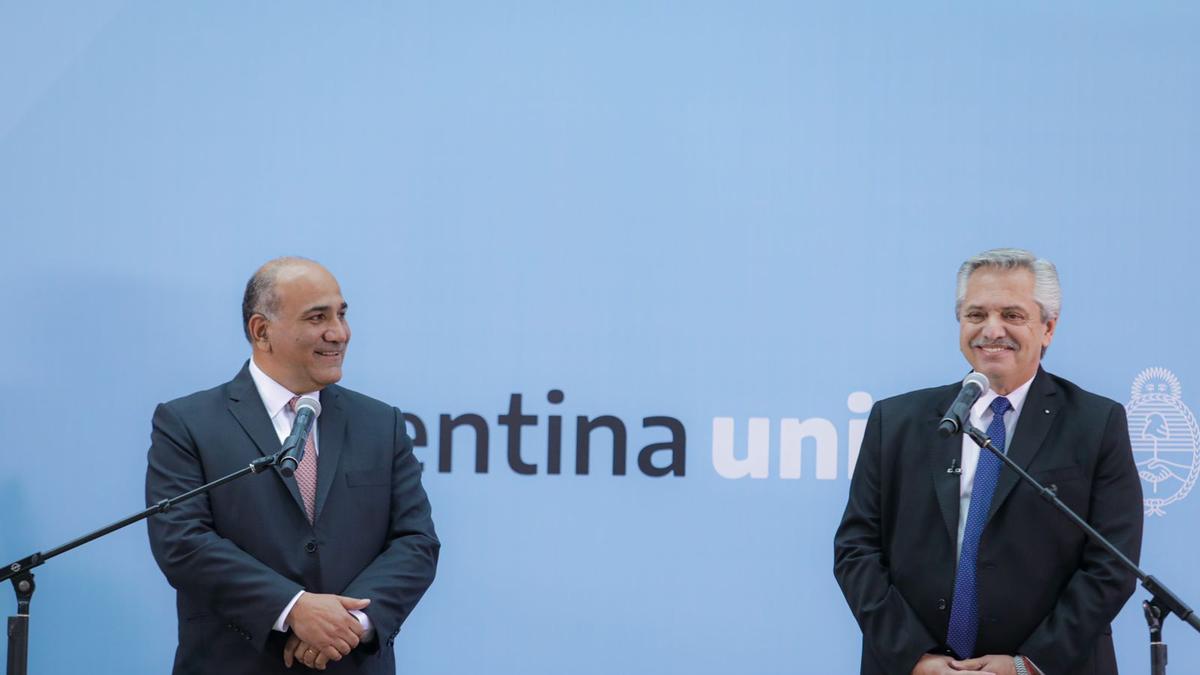 Cambios en el gabinete: El presidente Alberto Fernández y el nuevo jefe de Gabinete