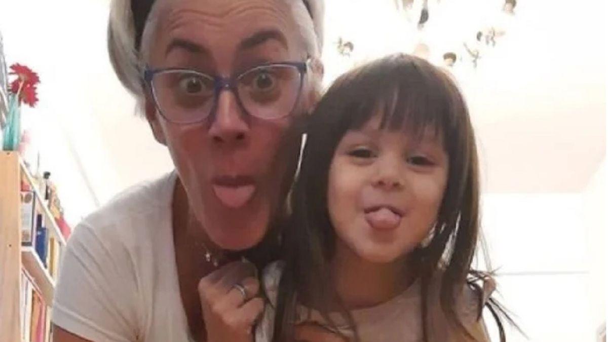 La emoción de Débora DAmato al ver por primera vez un video de su hija recién nacida