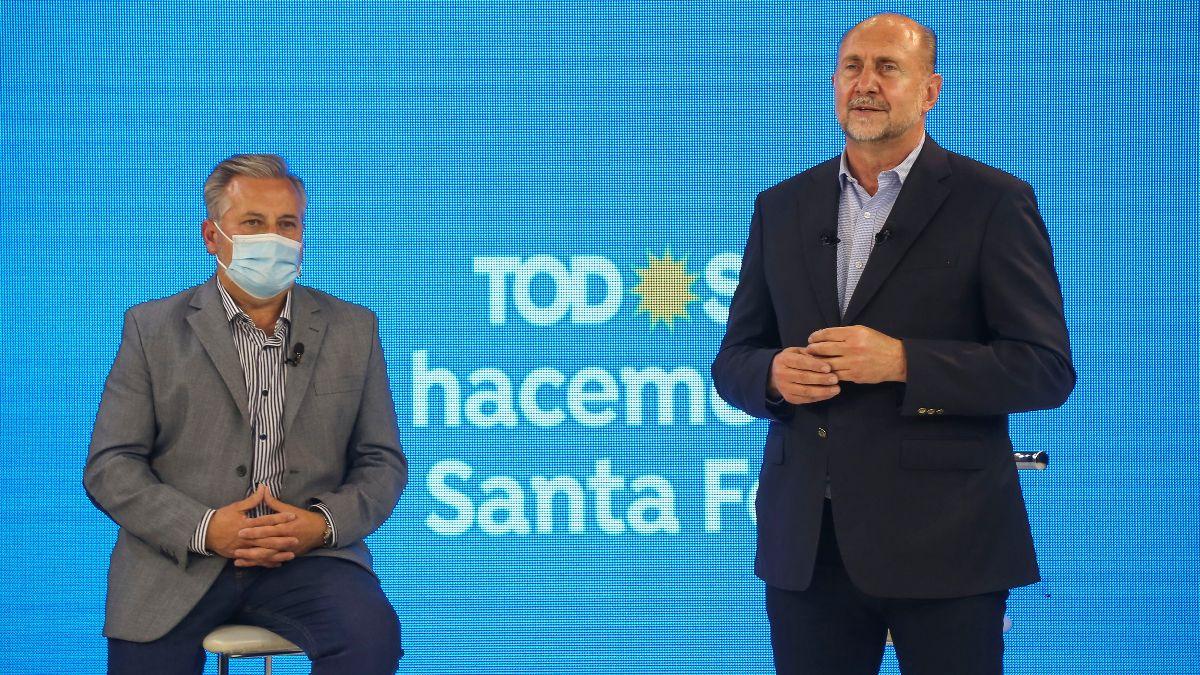 El gobernador Omar Perotti volvió a pedir ayuda al Gobierno para contener el delito en Rosario.