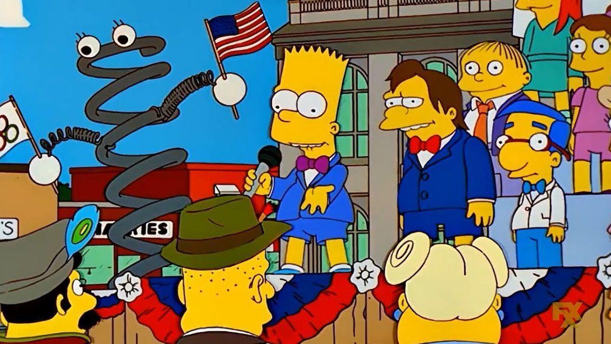 Los Simpsons les dedicaron tres capítulos de la serie a los Juegos Olímpicos.