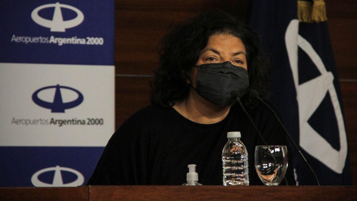 Ministra de Salud, Carla Vizzotti. (Foto: archivo)