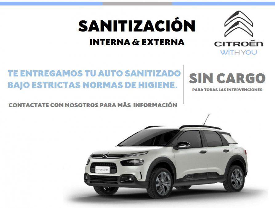 Postventa Peugeot, Citroën y DS: limpieza y sanitización de tu auto
