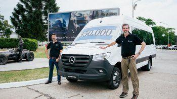 Mercedes-Benz celebra la producción Argentina de 350.000 Sprinter