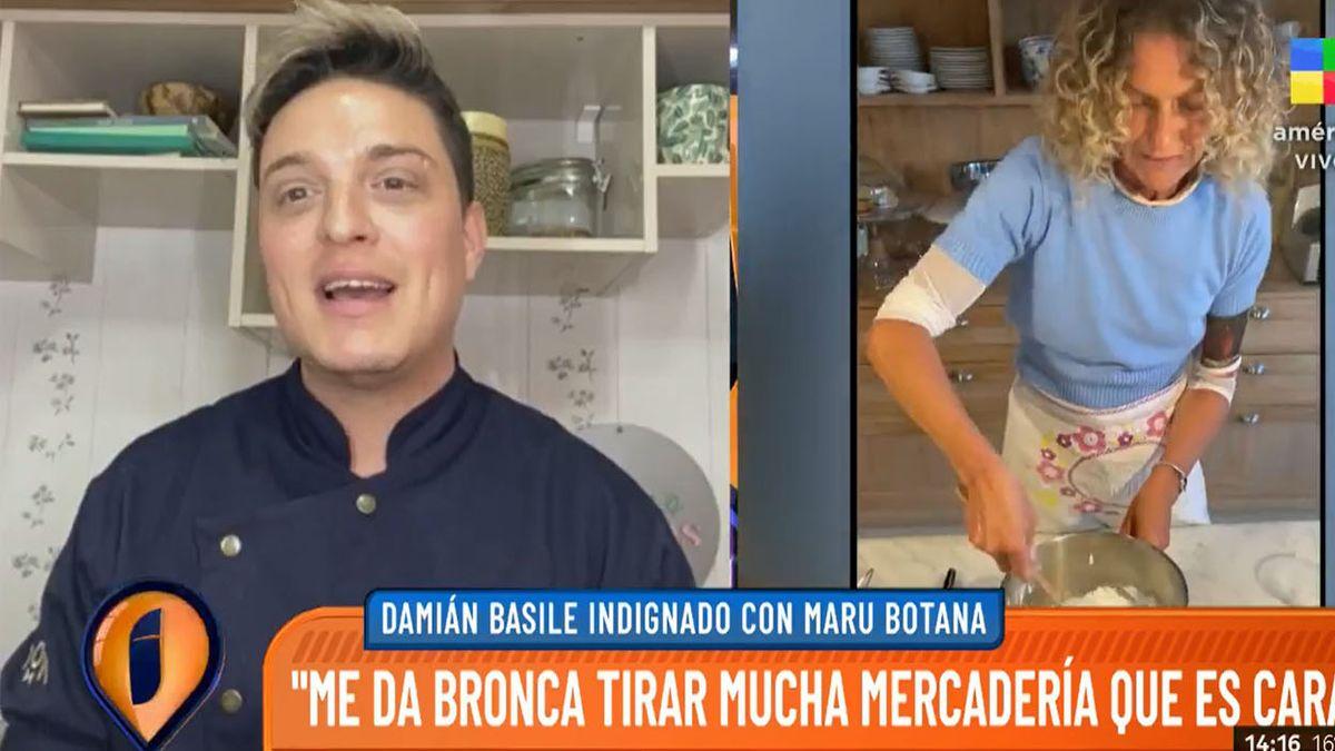 Damián de Bake Off contra Maru Botana: Todo estaba mal