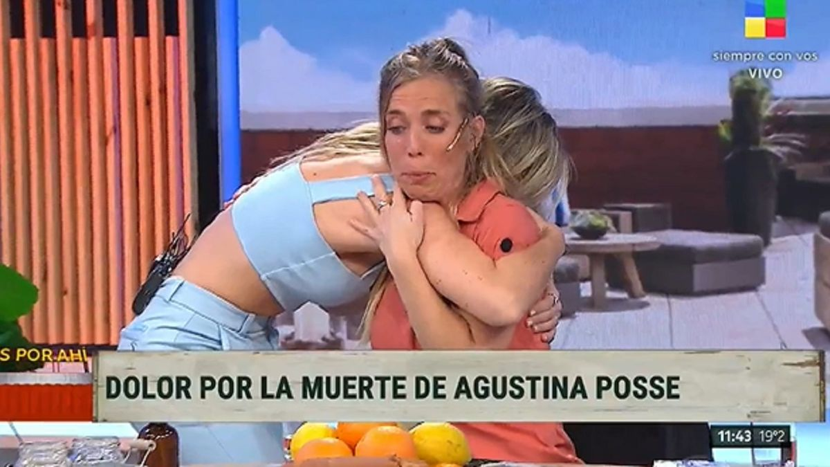 Chantal Abad se quebró por la muerte de Agustina Posse