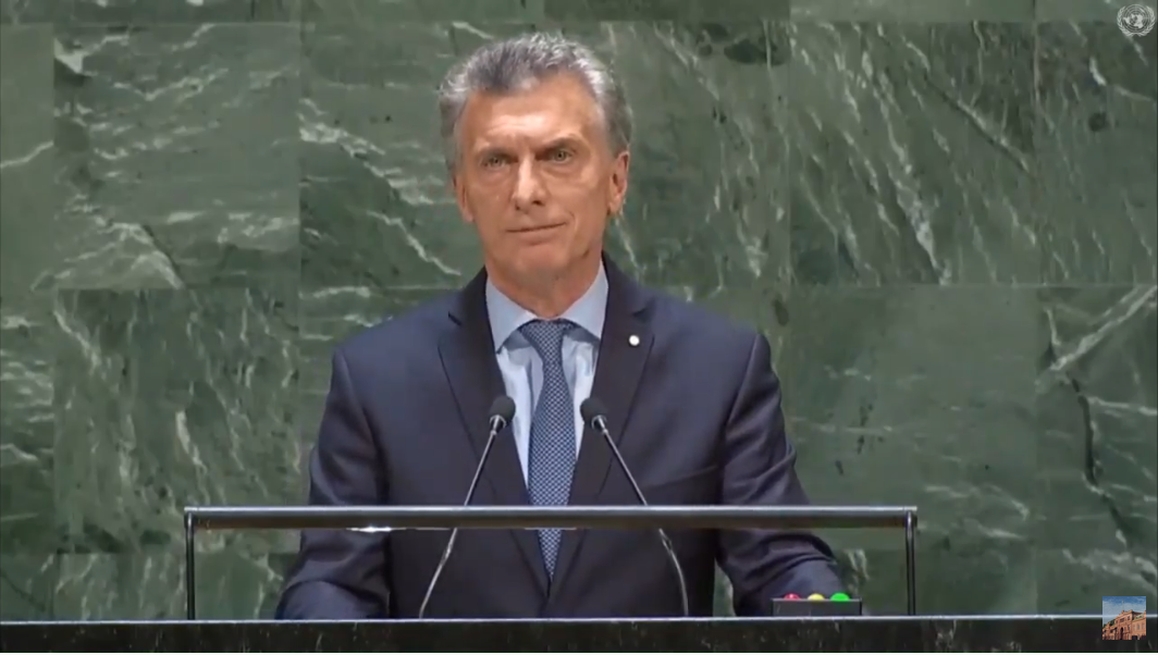 Venezuela, Irán, Malvinas y la paridad de género: los ejes del discurso de Mauricio Macri en la Asamblea de la ONU