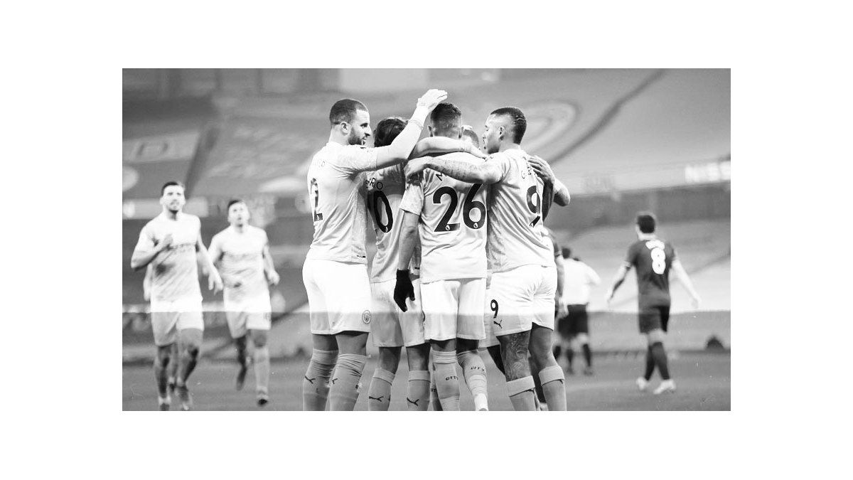 Una máquina: Manchester City goleó 4-1 a Wolverhampton y lleva 21 triunfos consecutivos