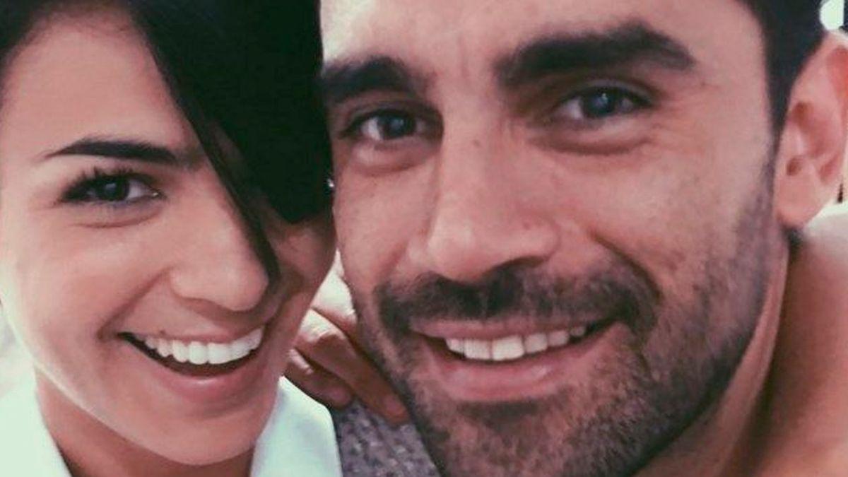 Los besos eternos entre Gonzalo Heredia y Agustina Cherri en La 1-5/18.