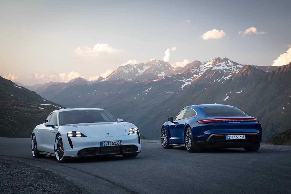El Porsche Taycan llega a la Argentina