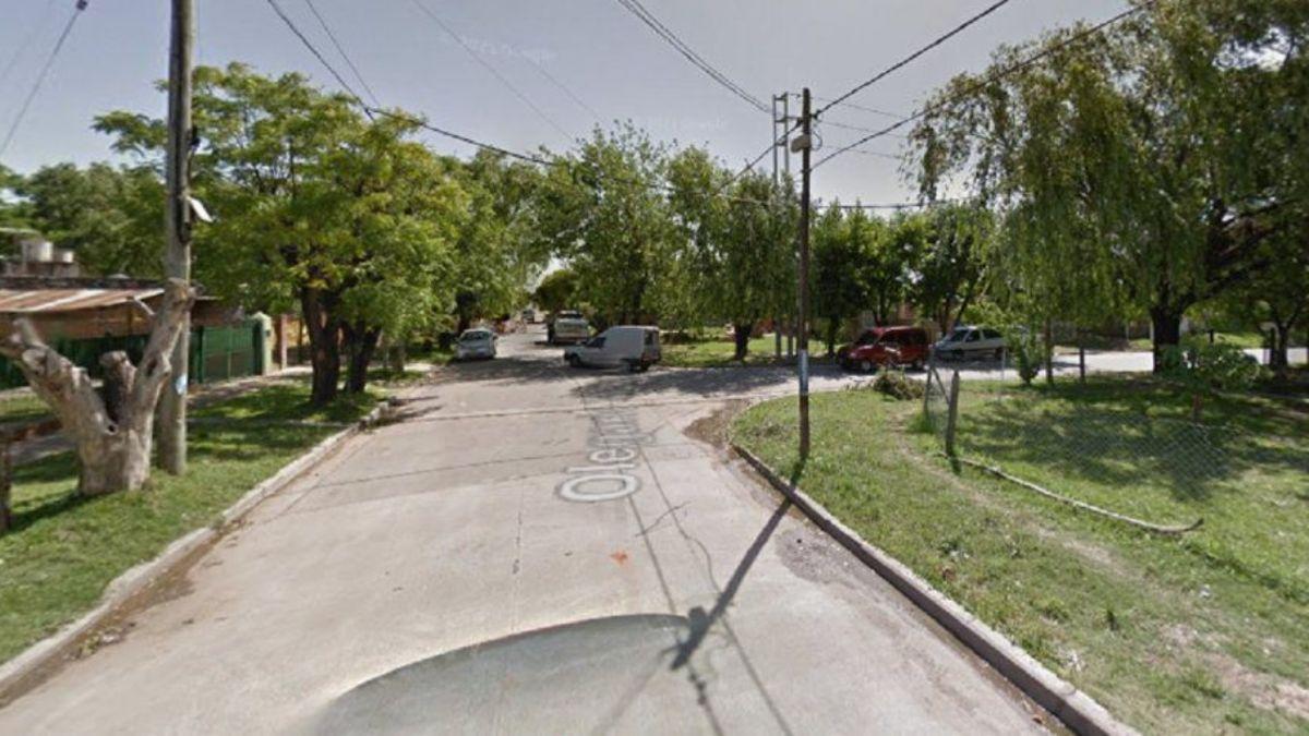 La mujer fue asaltada este domingo por la noche en la localidad bonaerense de Burzaco.