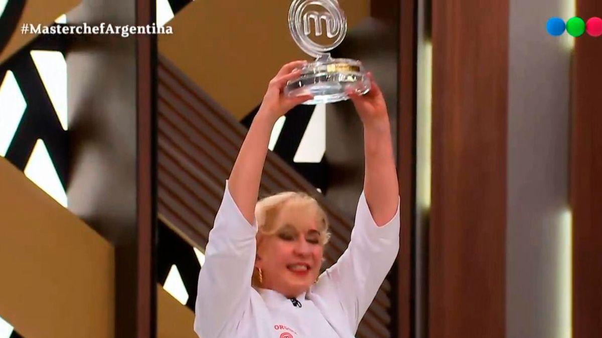 Se filtró el video de la final de Georgina Barbarossa como campeona.