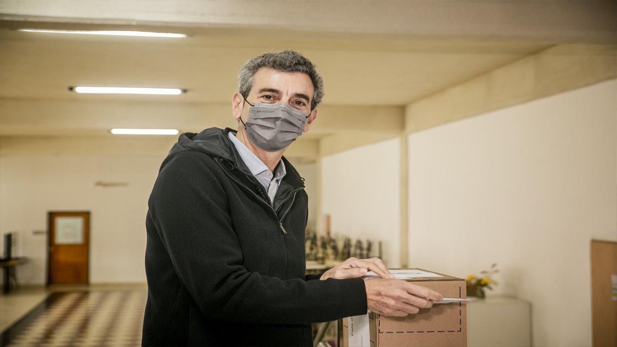 Elecciones PASO 2021: Florencio Randazzo emite su voto en las primarias. (Foto: Cuenta de Twitter de Florencio Randazzo)