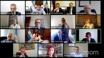 Jueces de la Cámara de Casación escuchan un encendido y crítico discurso contra el Poder Judicial de la vicepresidenta Cristina de Kirchner, en una audiencia por la causa Dólar Futuro (Captura de Pantalla).