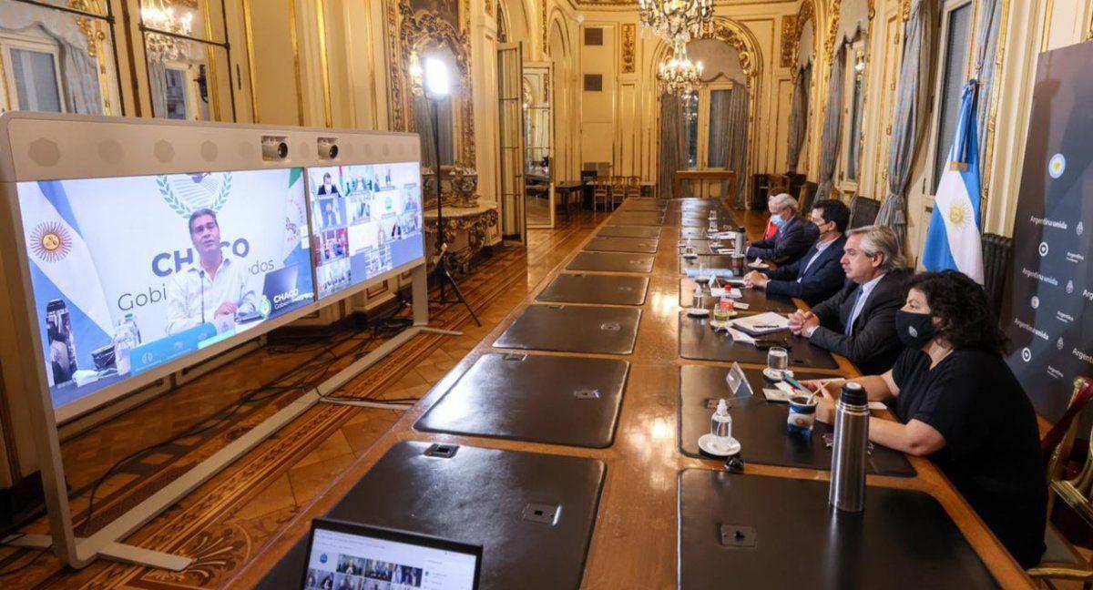 Alberto Fernández convocó a gobernadores para analizar la situación epidemiológica. (Foto: archivo)