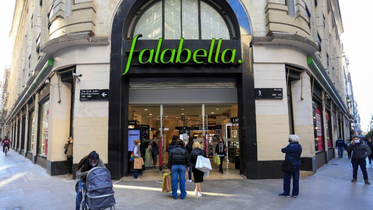 Falabella: la subasta se realizará online por streaming y estará abierta a todo público (Foto: archivo).