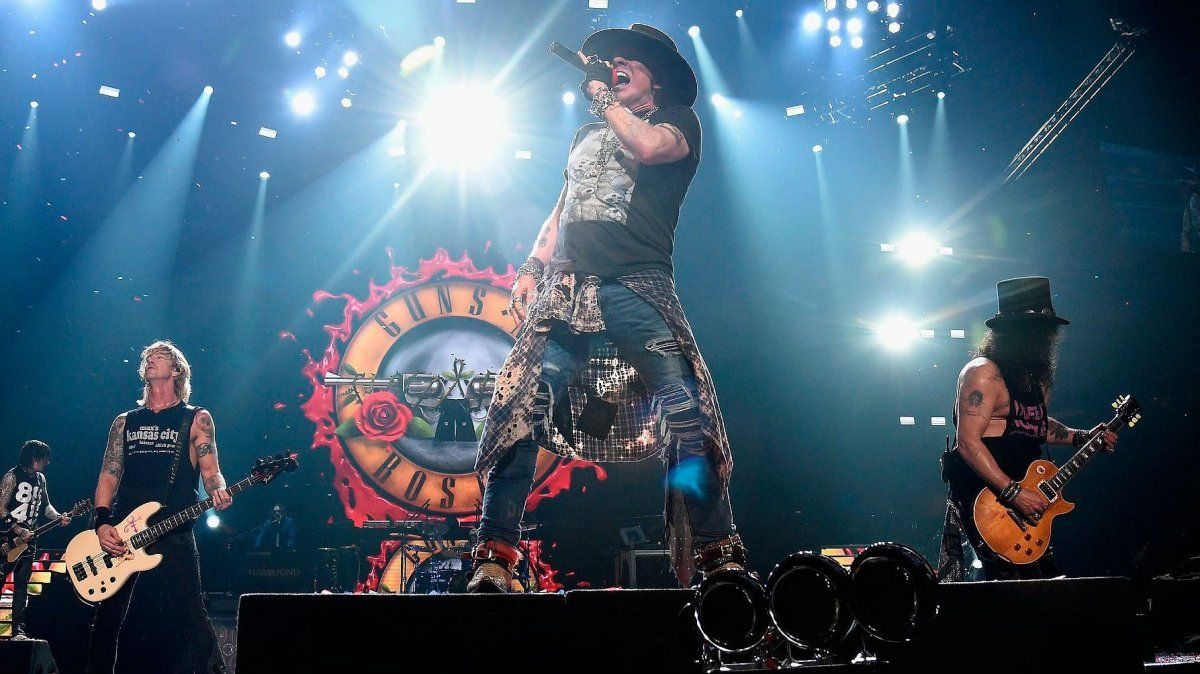 "Guns N Roses. Primer capítulo del podcast ""1991 – El Último Gran Año del Rock""."