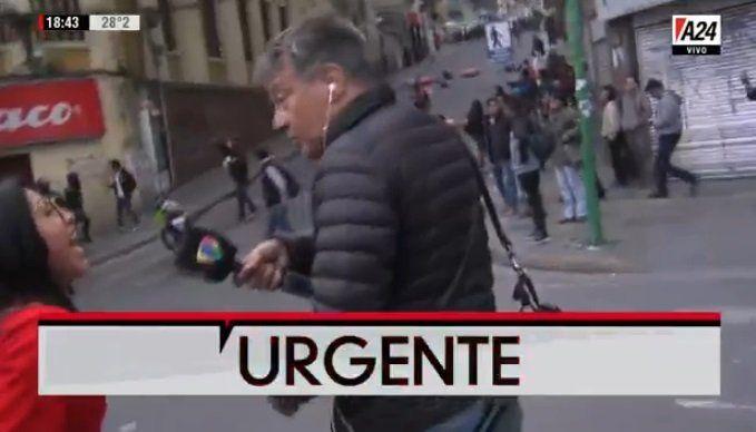 Bolivia: amenazan a la prensa extranjera y la embajada rescata a los periodistas argentinos