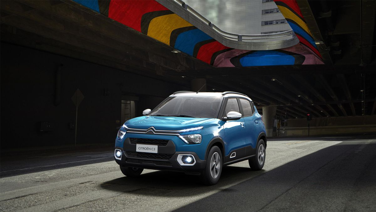El nuevo Citroën C3 ha optado por una carrocería bicolor