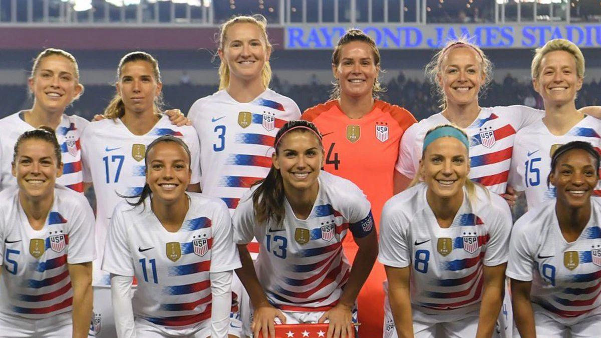 La selección femenina de EEUU cobrará lo mismo que la masculina.