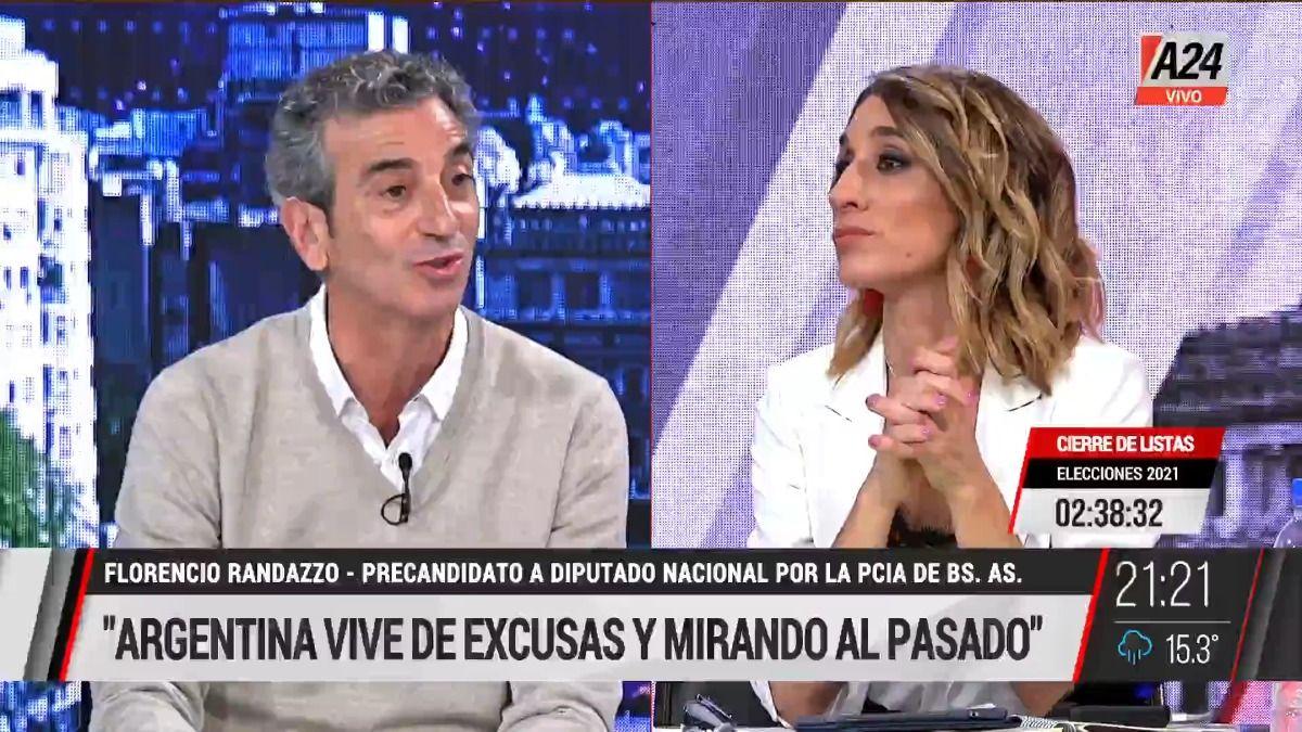 Florencio Randazzo: No hacemos política para sacarle votos a nadie.
