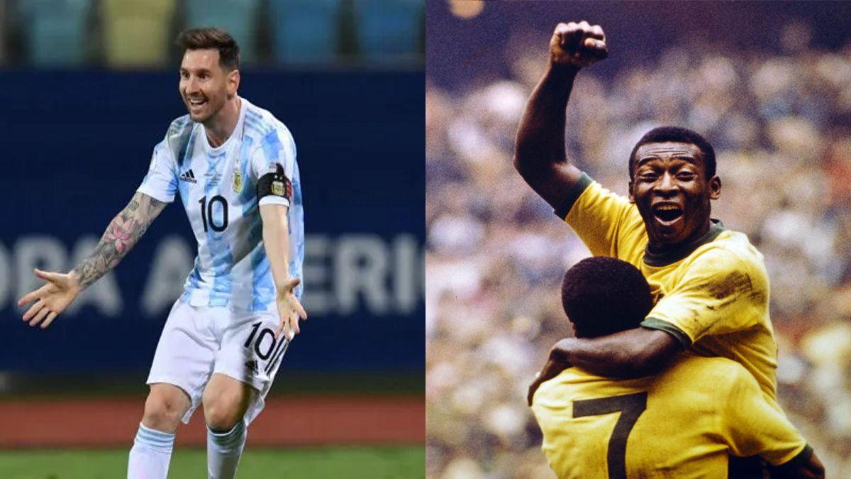 La marca de Pelé que Messi puede alcanzar contra Bolivia