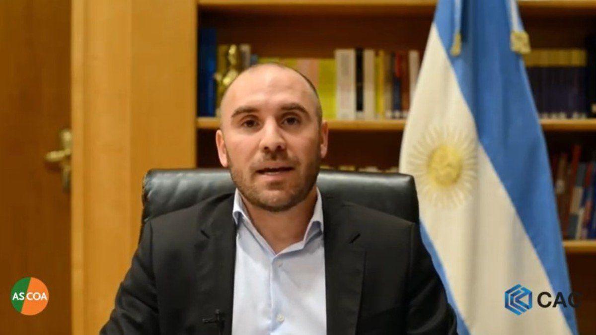 """Martín Guzmán: """"La situación macroeconómica en la Argentina se está tornando mes a mes más robusta""""."""