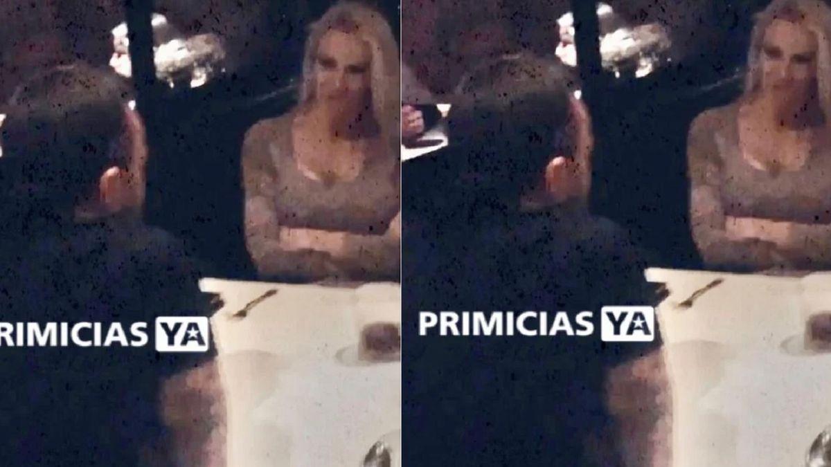 El reencuentro de Luciana Salazar y Martín Baclini