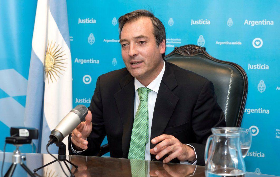 Martín Soria calificó de mamarracho jurídico el fallo de la Justicia porteña que garantiza la continuidad de las clases presenciales tras el DNU dictado por el Gobierno Foto: (Ministerio de Seguridad de la Nación).