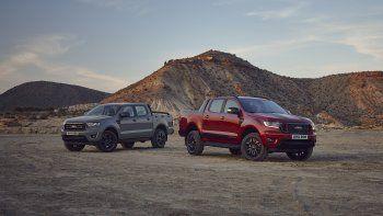 El Ranger Stormtrak y el Wolftrak se fabricarán en cantidades limitadas para garantizar su exclusividad; ambos modelos llegarán a los concesionarios Ford de toda Europa a partir de octubre de 2021,