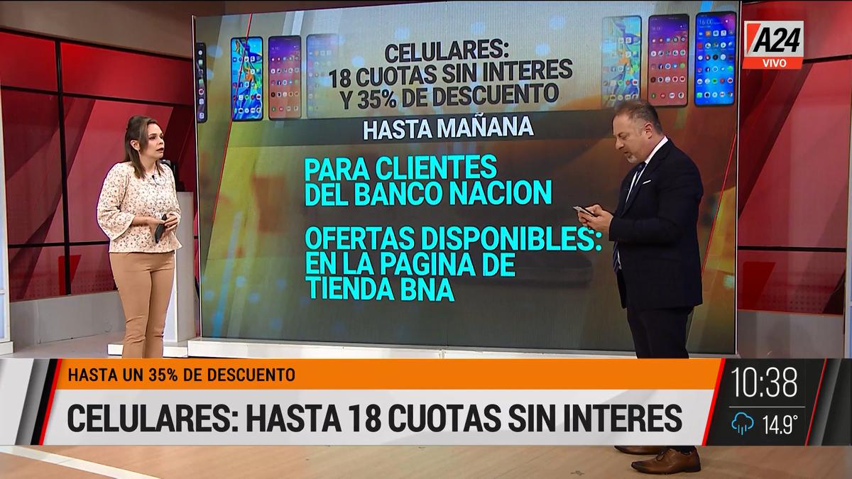 Recambio celulares: cómo aprovechar las 18 cuotas y el 35%. (Captura de Tv)