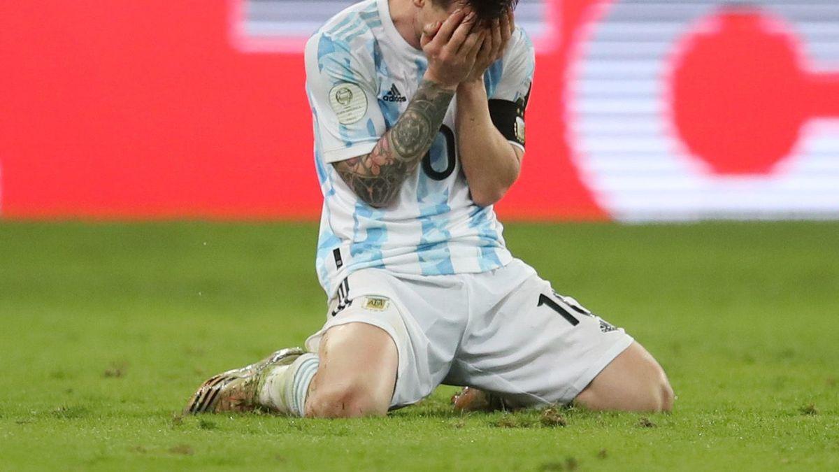 Messi y el momento más esperado: Argentina campeón de la Copa América.