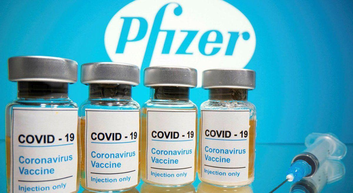 Pfizer anuncia que aumentó al 95% la efectividad de su vacuna contra el coronavirus y pedirá su aprobación