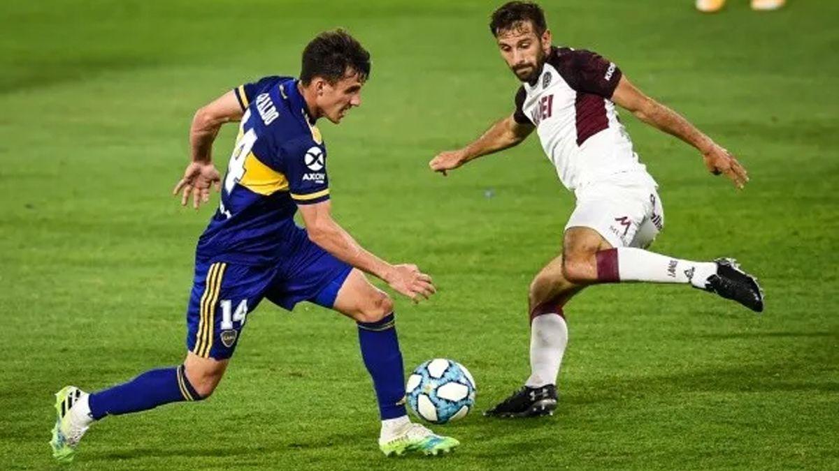 Boca le ganó 4 a 2 a Lanús en La Bombonera