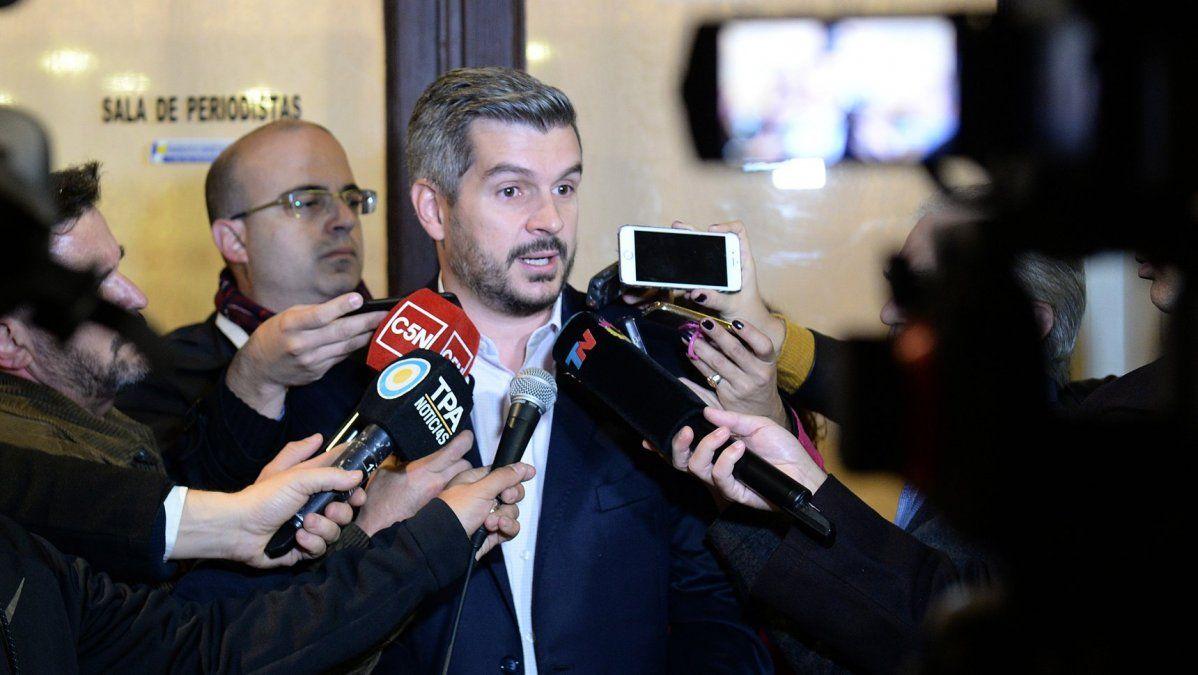 """Marcos Peña: """"El pacto fiscal se va a cumplir, no tiene marcha atrás"""""""