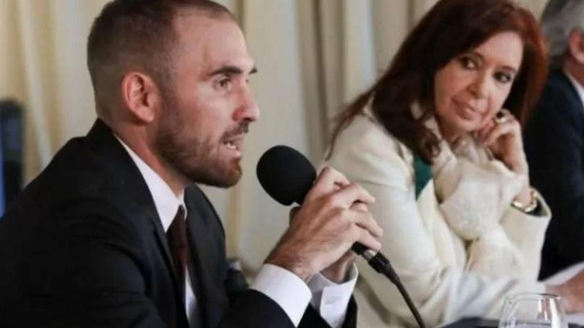 La vicepresidenta Cristina Kirchner le aclaró a Martín Guzmán que no pidió su renuncia.