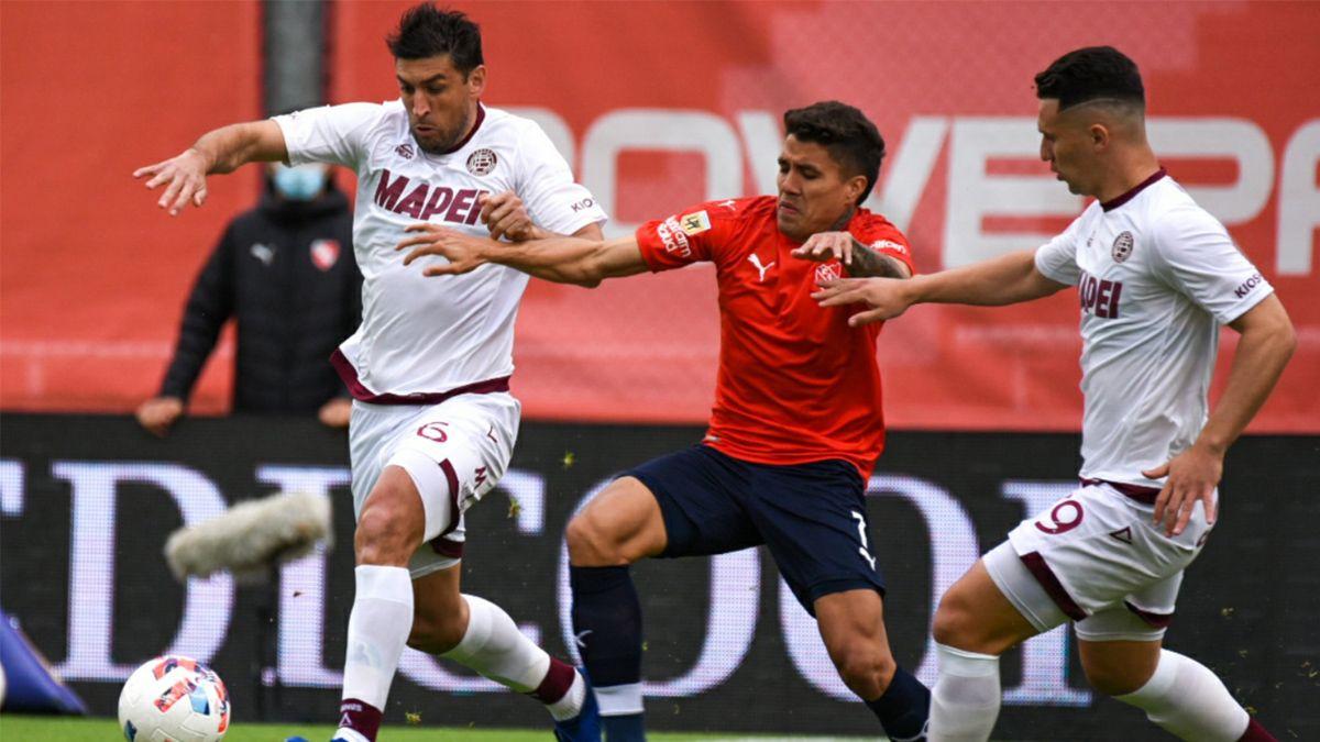 Lanús e Independiente arman un gran partido en Avellaneda.