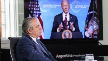Alberto frente a Biden: Necesitamos renovar la arquitectura financiera internacional
