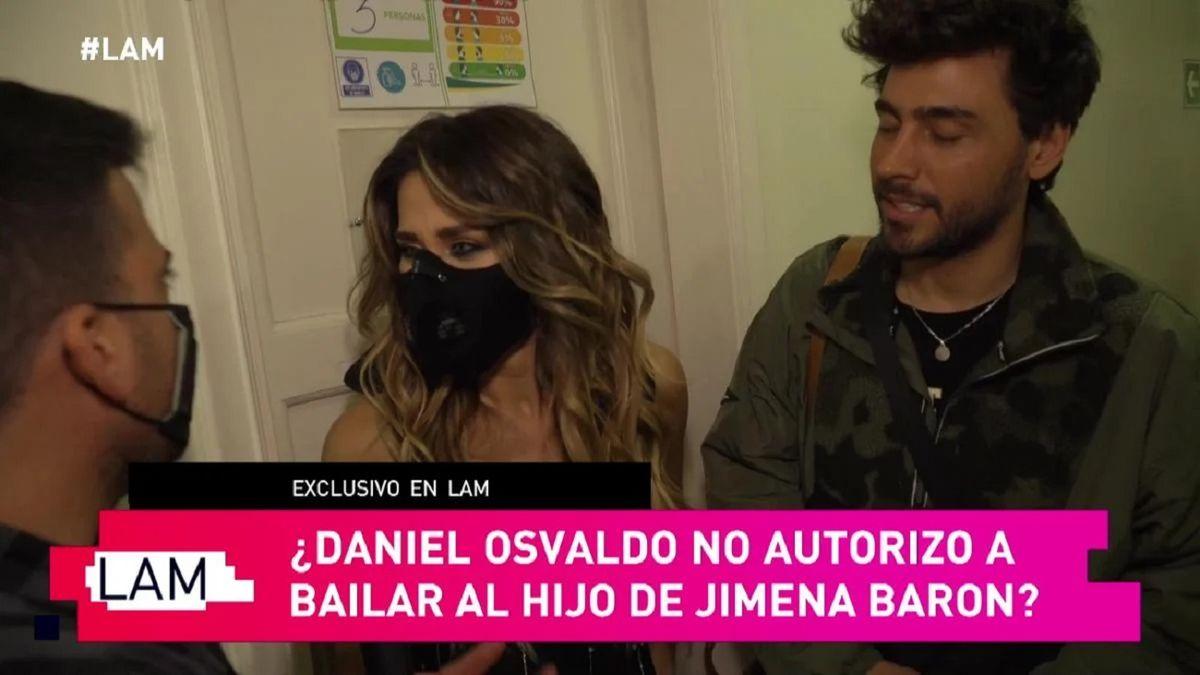 Mala actitud de Daniel Osvaldo con Lizardo Ponce, el amigo de Jimena Barón