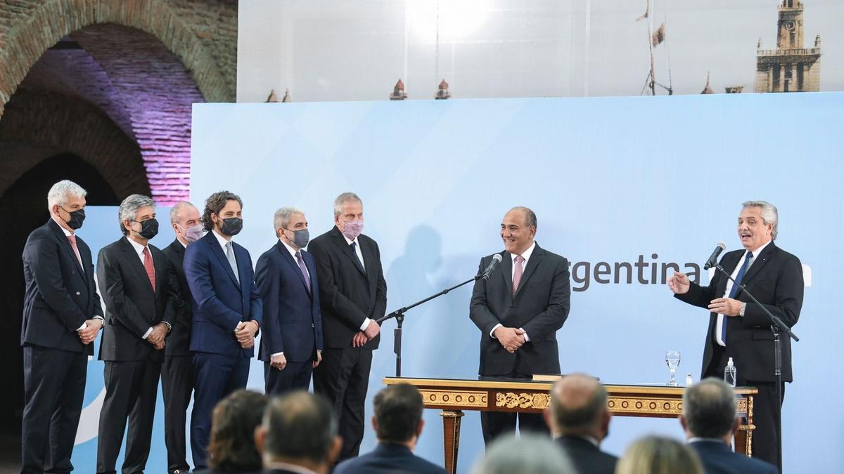 Los nuevos ministros de Alberto Fernández.