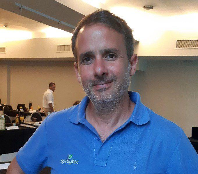 Agustín Bianchini, coordinador técnico de Spraytec.